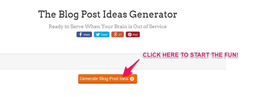 great blog post ideas